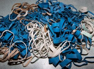 Pile of rubberbands.